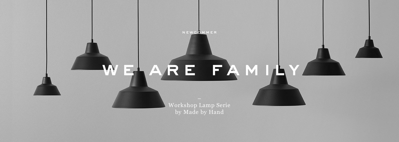 Lagom, Bildwelt, We are Family, Workshop Lamp Serie by Made by Hand