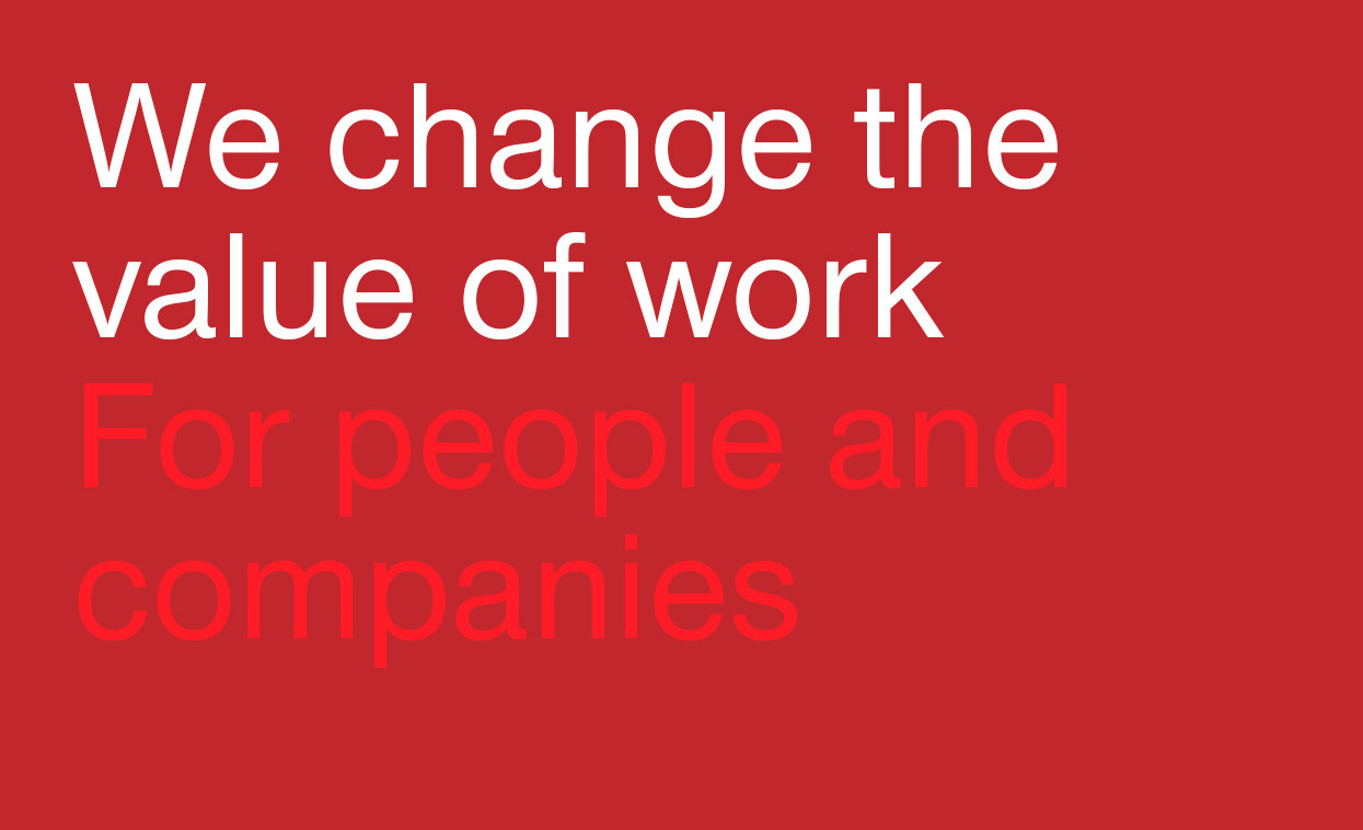 Trenkwalder, We change the value of work For people and companies
